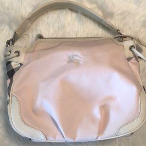 Burberry London Blue Label Satchel Bag